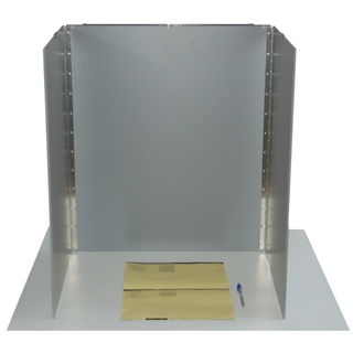 Tabletop Voting Booth TK 1.1