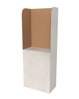 Free-standing Voting Booth STWK2TL VPE (2 pieces)